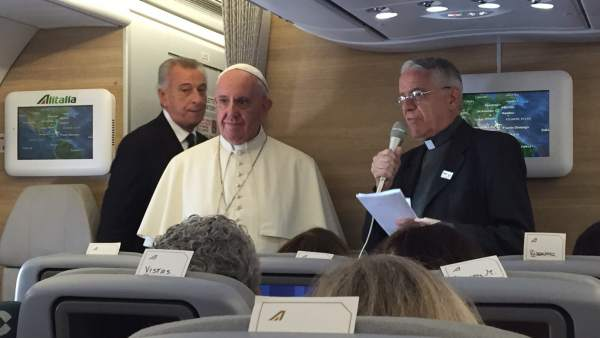 El Papa llega a EU