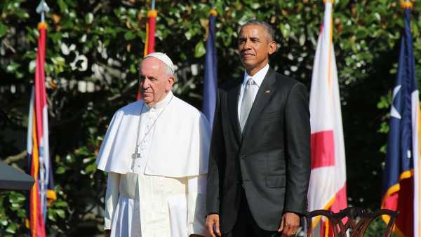 Papa Francisco se reúne con Obama