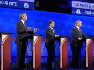 Aspirantes republicanos.