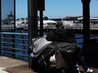 Un sin techo de Seattle