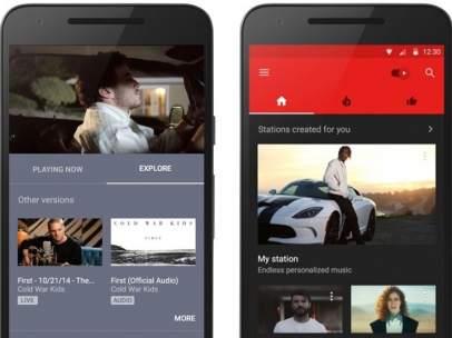 Google lanza la 'app' YouTube Music para celulares Android e iOS