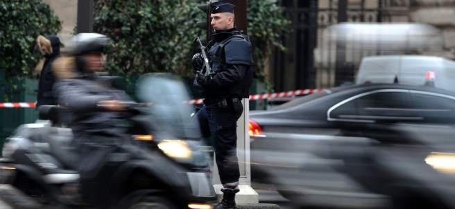 Policías franceses