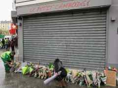 En memoria de las víctimas en París