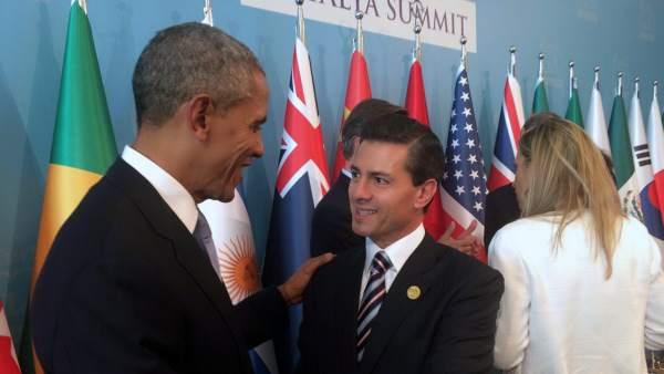 Obama y Peña Nieto