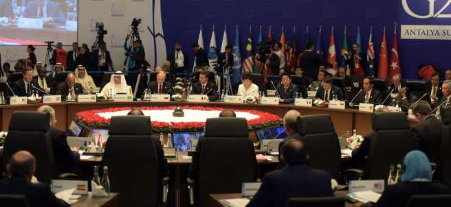 Reunión del G-20
